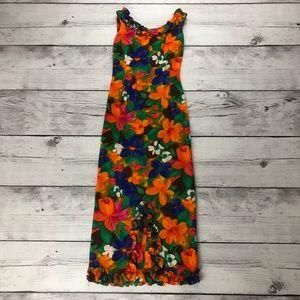 Vintage Koawaiian Barkcloth Wiggle Dress